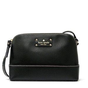 Kate Spade Crossbody Black Genuine Leather